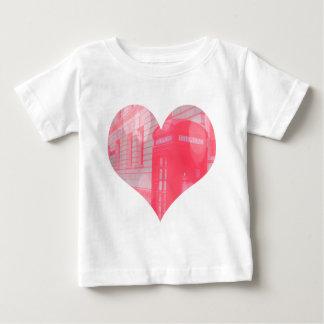 Dreamy Pink Telephone Box Baby T-Shirt