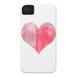 Dreamy Pink Telephone Box Case-Mate iPhone 4 Case