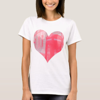 Dreamy Pink Telephone Box T-Shirt