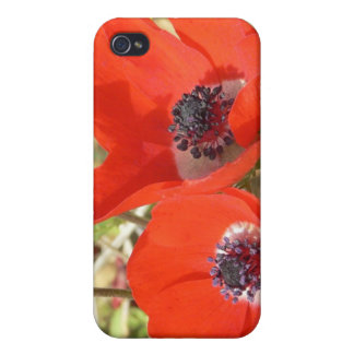 Dreamy Poppies i iPhone 4 Cases
