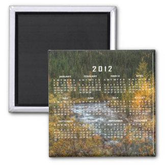 Dreamy River; 2012 Calendar Magnet