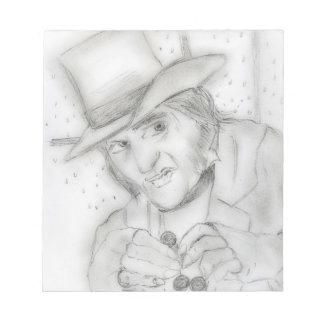dreamy scrooge notepad
