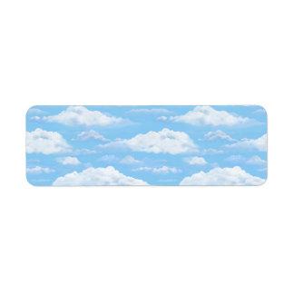 Dreamy Sky Label
