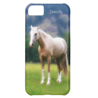 Dreamy  Soft Palomino Horse Painted Look iPhone 5C Covers