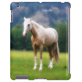 Dreamy Soft Palomino Horse Painted Look