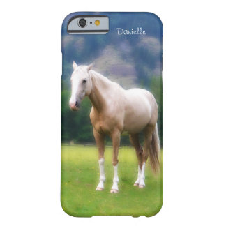 Dreamy  Soft Palomino Horse Painted Look Barely There iPhone 6 Case
