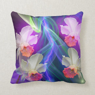 Dreamy Spring with Daffodils Throw Pillow