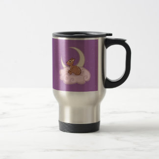 Dreamy Star Spotted Fawn In The Clouds Art Coffee Mugs