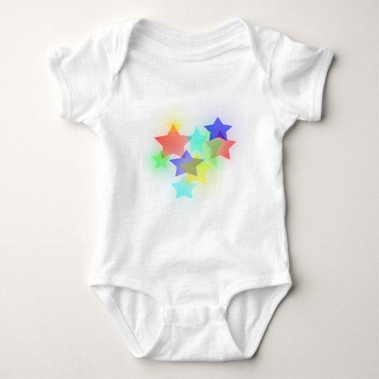 Dreamy Stars Baby Bodysuit