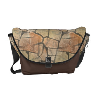 Dreamy Stone Paving Illusion Messenger Bags