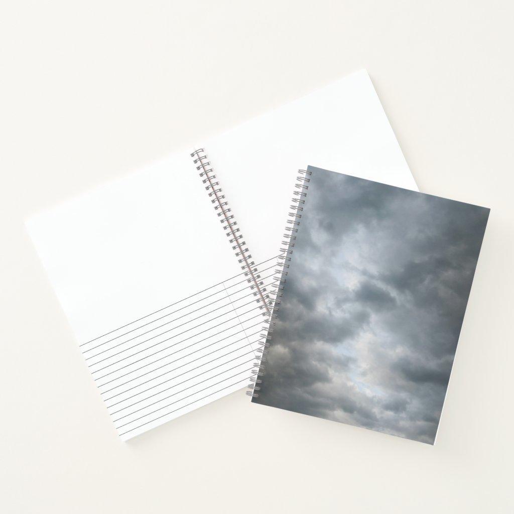 Dreamy Storm Clouds Breaking Sketch Journal