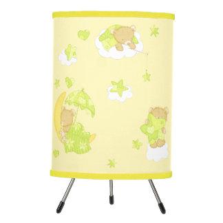 Dreamy Teddy Bear Tripod Lamp