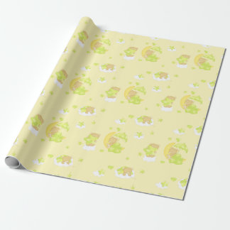 Dreamy Teddy Bear Wrapping Paper