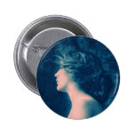Dreamy Vintage Portrait Button
