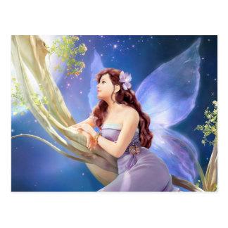 Dreamy Violet Fairy