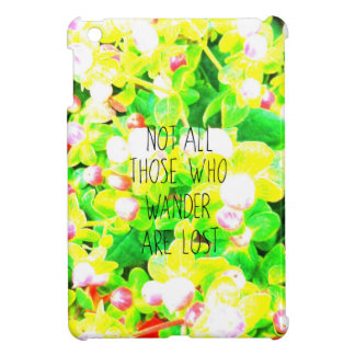 Dreamy wandering philosophy typography cover for the iPad mini