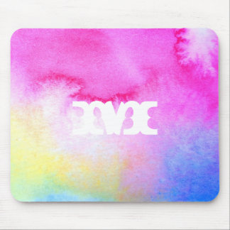 Dreamy Watercolor Mouse Pad