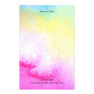 Dreamy Watercolor Stationery