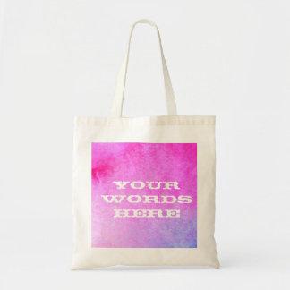 Dreamy Watercolor Tote Bag