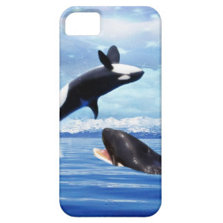 Dreamy whales in fun and play iPhone SE/5/5s case