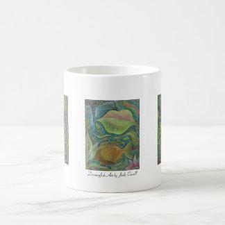 Dreamyfish Art small mug