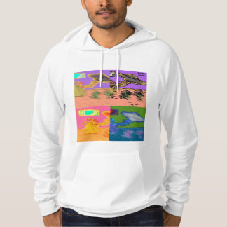 DreamySupply Distorted American Apparel Hoodie