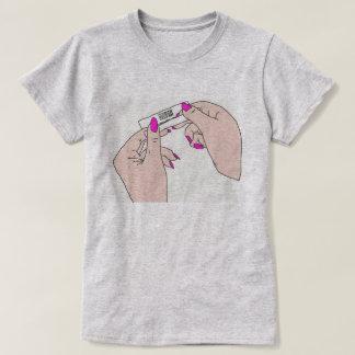 DreamySupply Rolling Trees Women's Grey T-Shirt