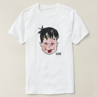 DreamySupply Tongue Out Men's White T-Shirt
