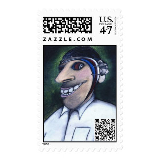DREarp.comQRcoded postage stamps