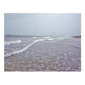 Dreary Coastal Days Postcard