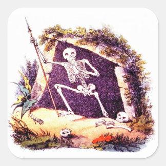 Dreary Old King Death sticker