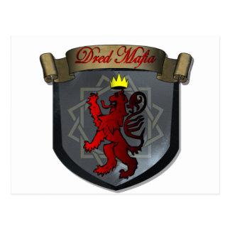 Dred Mafia Logo Postcard