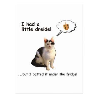 Dredel Cat Postcard
