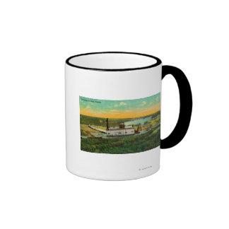 Dredging for GoldMining in AlaskaState Coffee Mugs