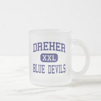 Dreher - Blue Devils - High - Columbia 10 Oz Frosted Glass Coffee Mug