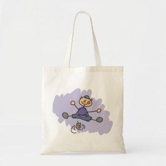 Dreidel Boy Budget Tote Bag