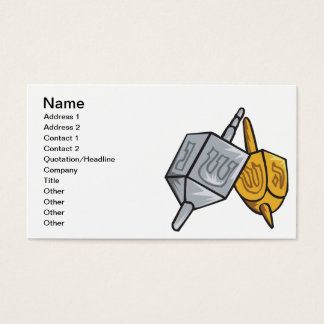 Dreidel Business Card