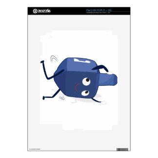 dreidel dance hannukah decal for the iPad 2