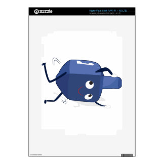 dreidel dance hannukah iPad 3 skins