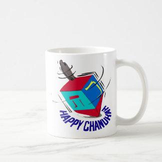 Dreidel de giro taza de café