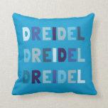 Dreidel Dreidel Dreidel Pillow