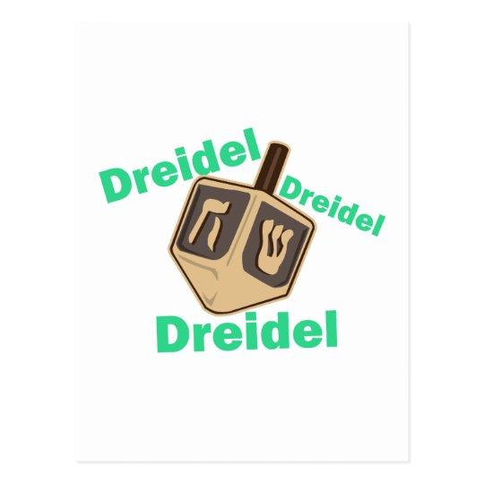 Dreidel Dreidel Dreidel Postal