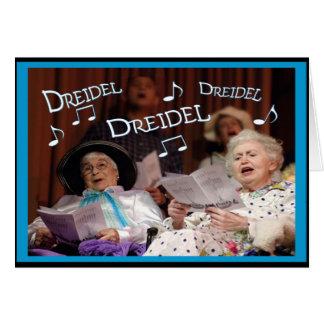 Dreidel Dreidel Dreidel Tarjeta