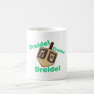 Dreidel Dreidel Dreidel Taza Básica Blanca