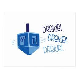 Dreidel Dreidel Postcard