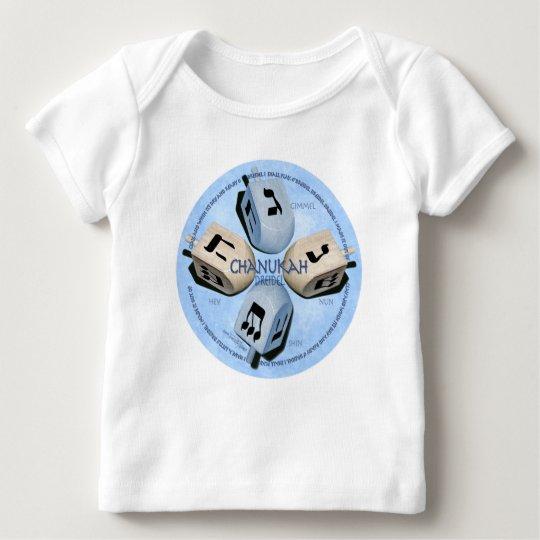 Dreidel Game - Happy Hannukah Baby T-Shirt