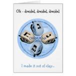 Dreidel Game - Happy Hannukah Cards