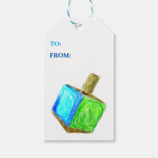 Dreidel Gift Tag-Vertical Gift Tags