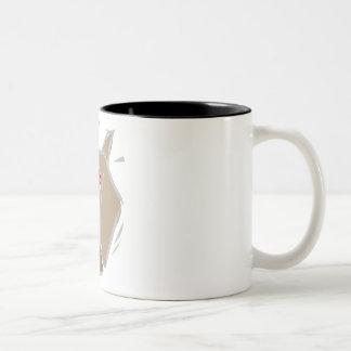 Dreidel Gimel Two-Tone Coffee Mug