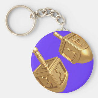 Dreidel Keychain